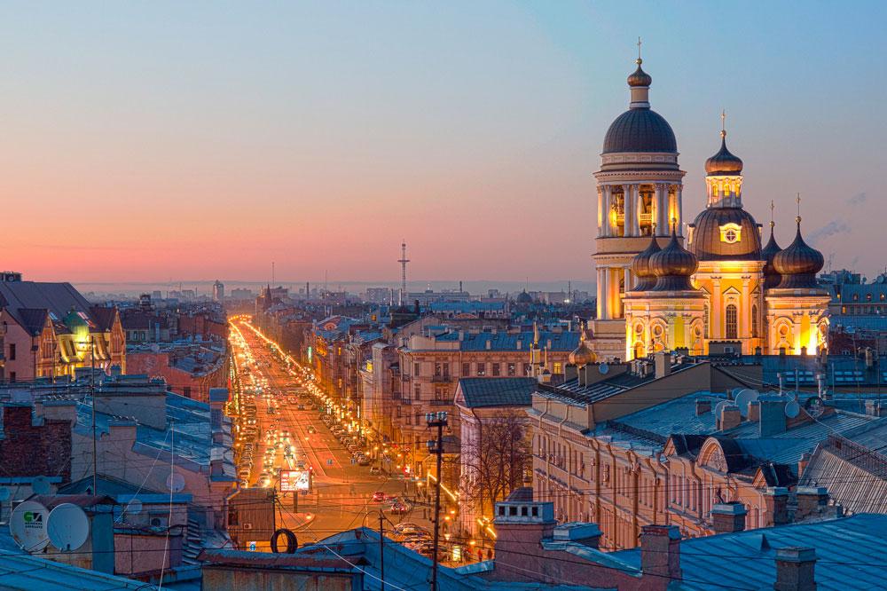 По крышам Питера: необычные экскурсии в городе над Невой