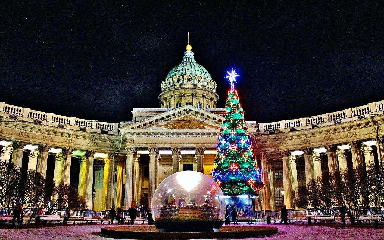Новый Год в Санкт-Петербурге: места и события