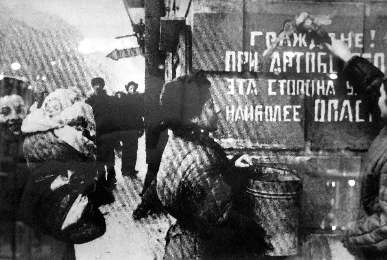 Блокадный Ленинград. Прогулка по знаковым местам