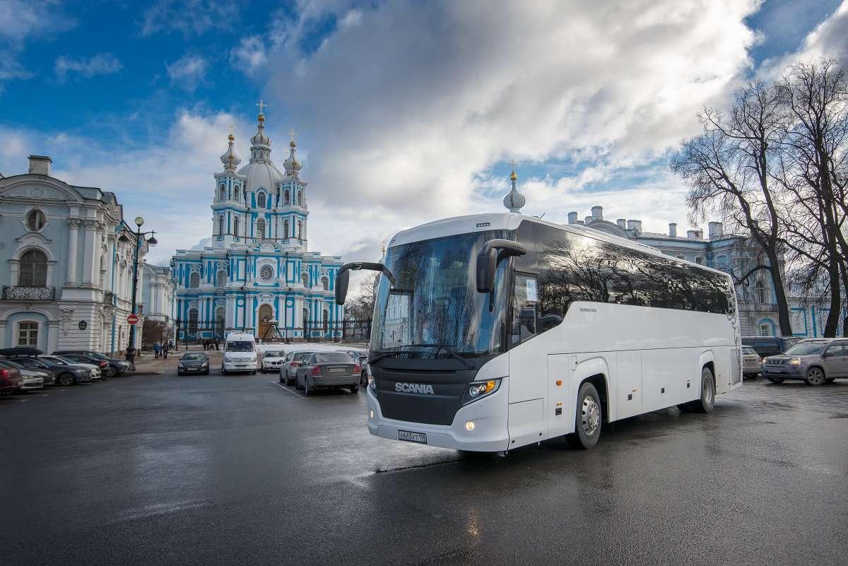 Место посадки-высадки рейсов Грандавто в Санкт-Петербурге